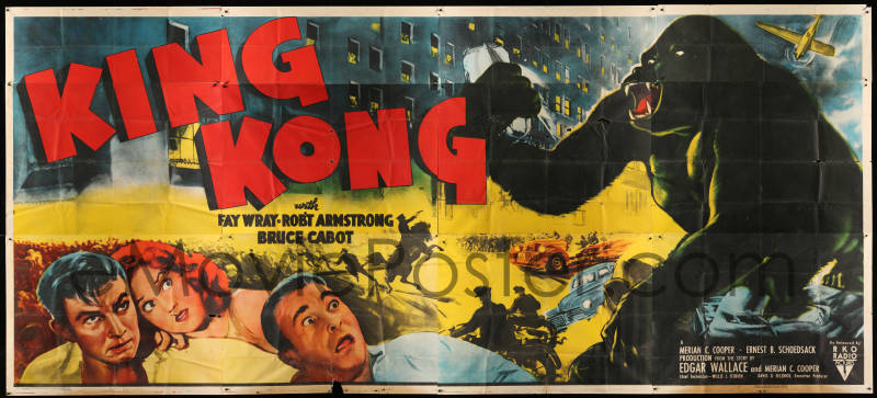 King Kong Posters on the Auction Block