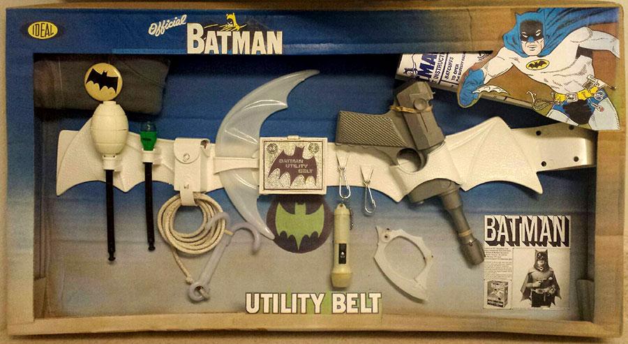 batman vintage utility belt