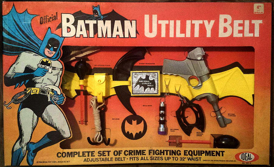 batman ideal utility belt