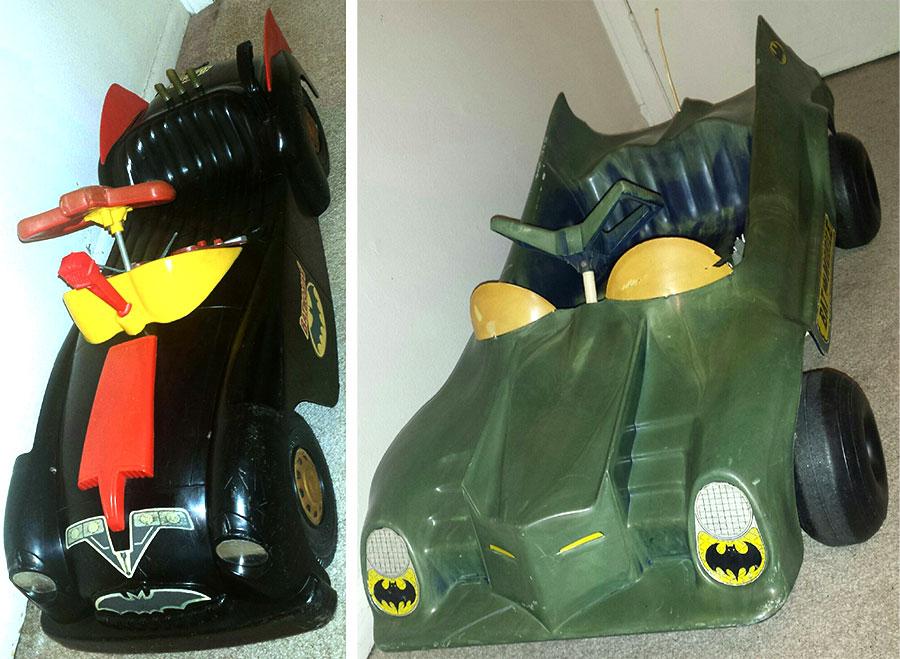 batman pedal cars