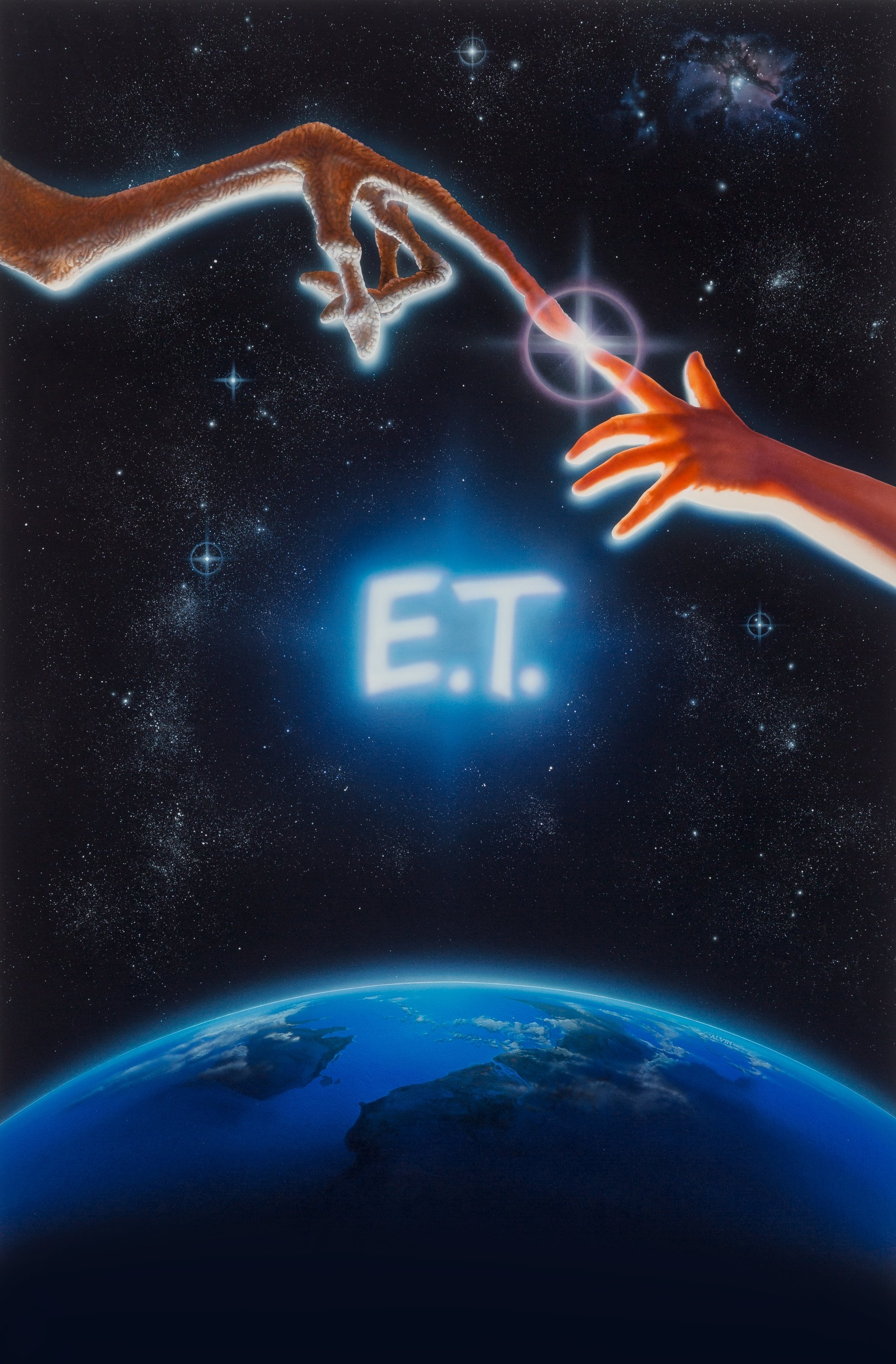 Original E.T. movie poster art sells for $394,000!