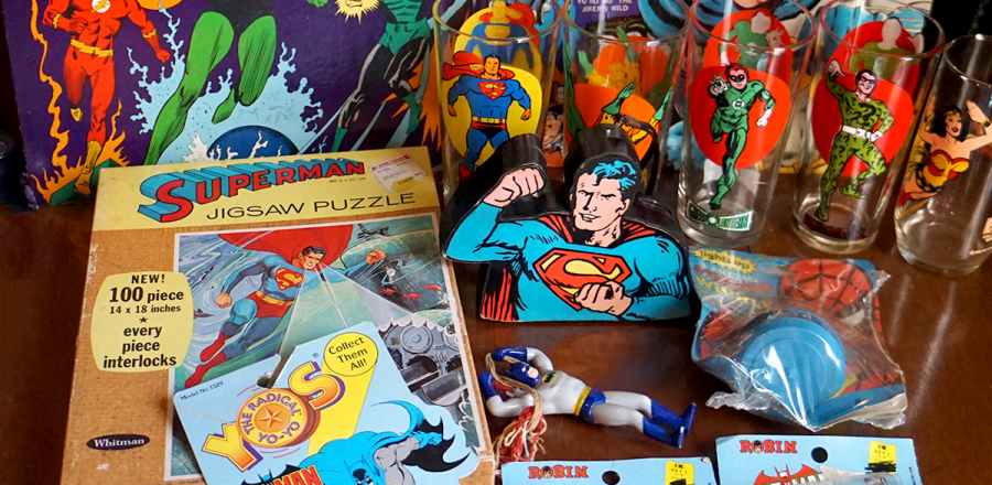 Vintage Heroes found at the Timonium Toy Show