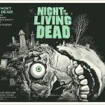 Night of the Living Dead poster by Gary Pullin