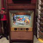How I repurposed a vintage TV console into a functional cabinet