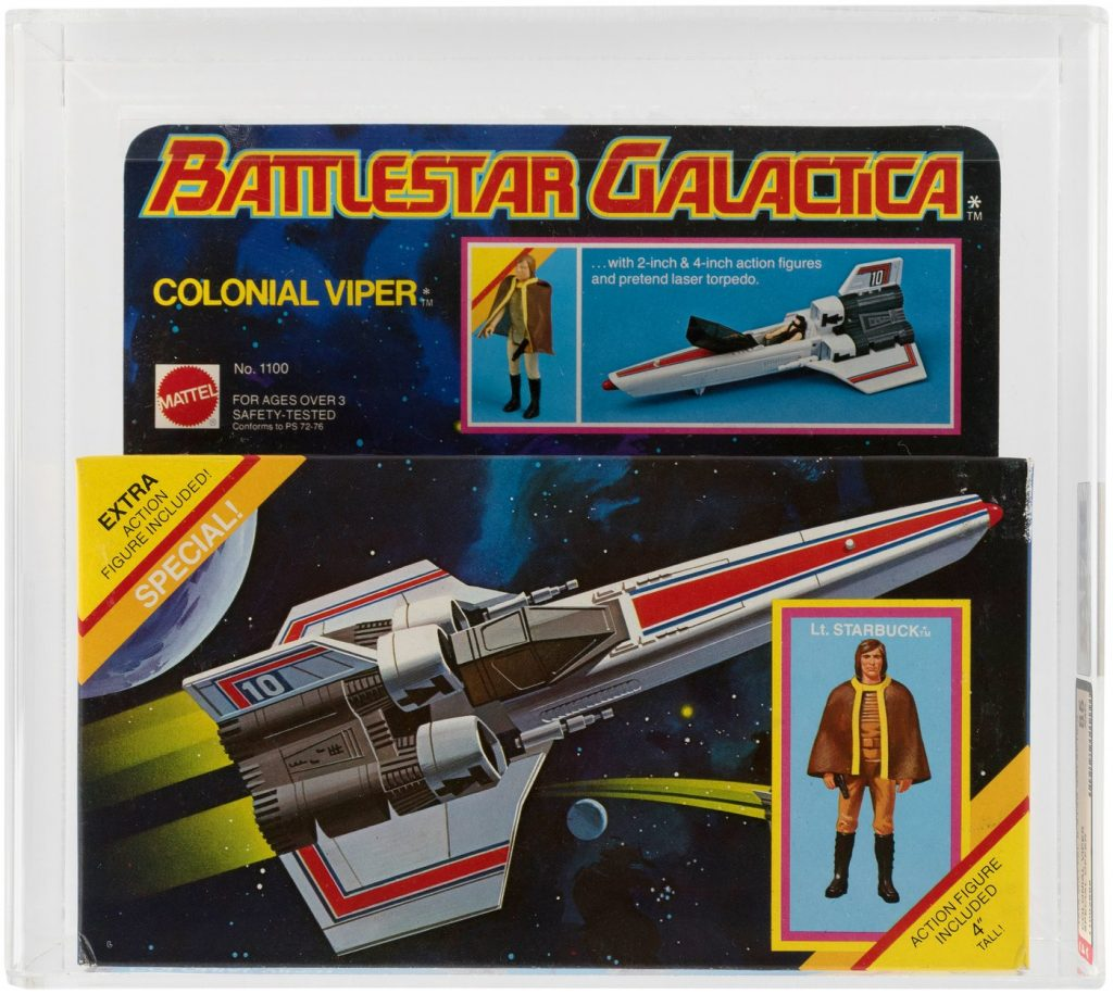mattel colonial viper battlestar galactica