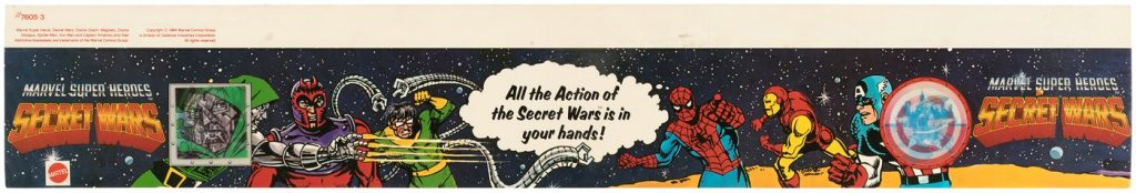 secret wars shelf talker